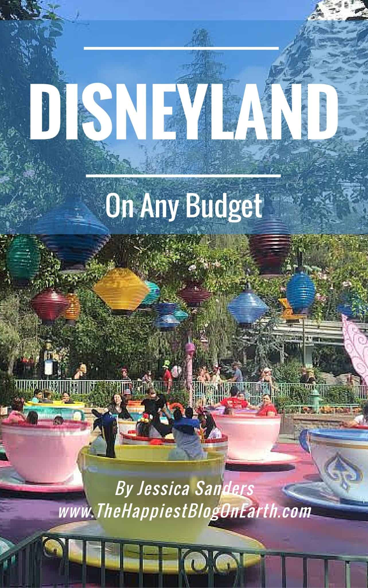 Disneyland On Any Budget, start saving and let's go to Disneyland!