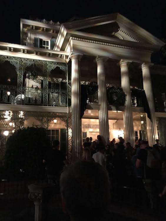 Disneyland's Haunted Mansion. Photo courtesy of The Happiest Blog on Earth.